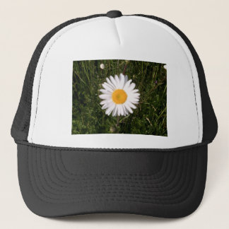 Daisy Print Trucker Hat