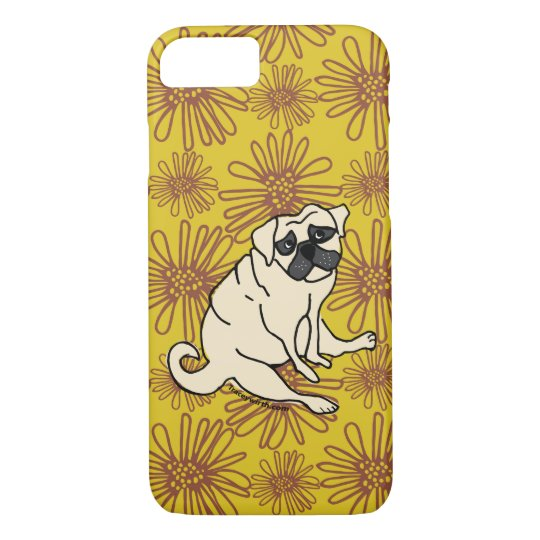 Daisy Pug Phone Cover