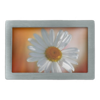Daisy Rectangular Belt Buckle
