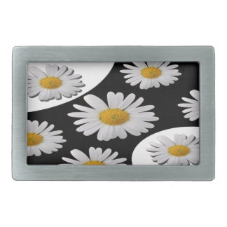Daisy Rectangular Belt Buckles
