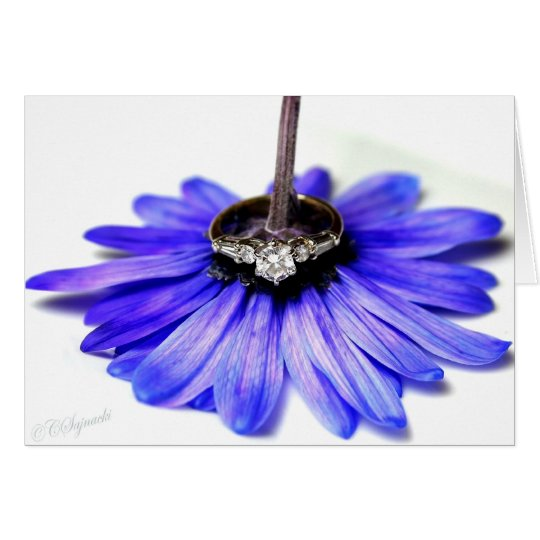 Daisy Ring Card