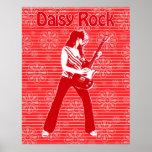 Daisy Rock Poster