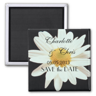 Daisy; Save the Date Magnet