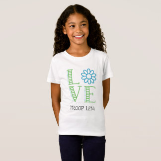 Daisy Scout Love Troop Shirt
