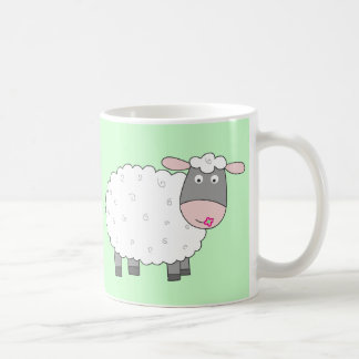 Daisy Sheep Coffee Mug