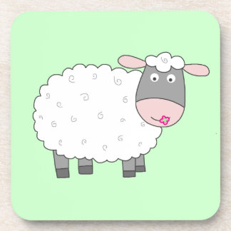 Daisy Sheep Coaster