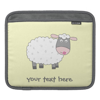 Daisy Sheep iPad Sleeve