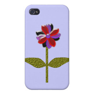 Daisy Shining Plastic  Case For iPhone 4