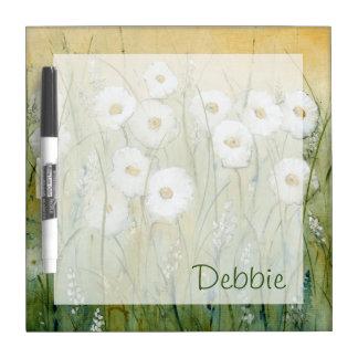 Daisy Spring I Dry Erase Board
