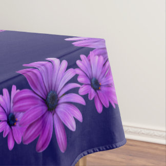 Daisy Tablecloth Blue Daisy Flowers Tablecloth