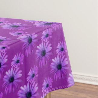 Daisy Tablecloth Purple Daisy Flowers Tablecloth