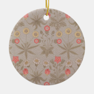 'Daisy', the first wallpaper designed by William M Christmas Ornament