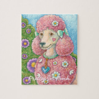 DAISY The French Pink Poodle PUZZLE