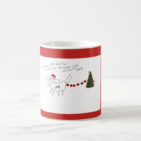 Daisy the Shih tzu christmas mug!! Coffee Mug