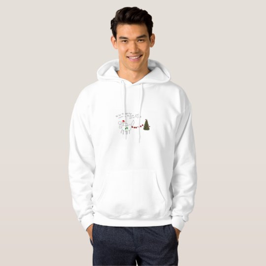 daisy the Shih Tzu mens christmas hoodie!!! Hoodie