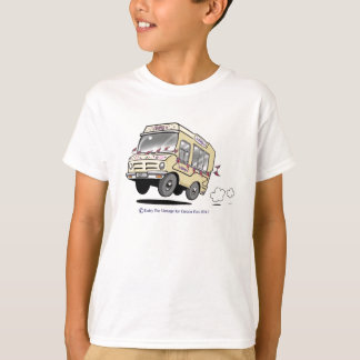 Daisy The Vintage Ice Cream Van Child TShirt
