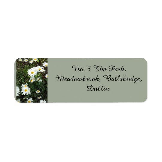 Daisy Theme Address Labels