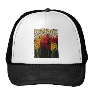 Daisy Tulip Collage Cap