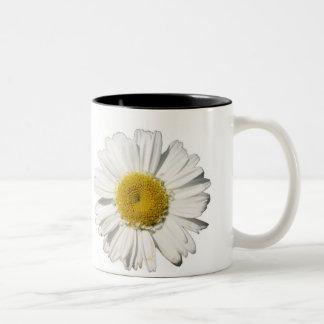 Daisy Two-Tone Coffee Mug