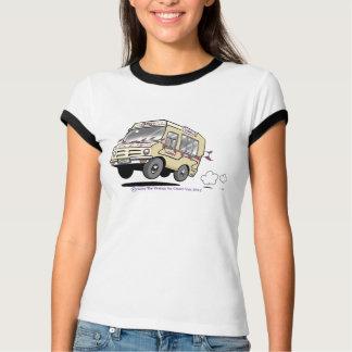 Daisy Vintage Retro Ringer T Shirt