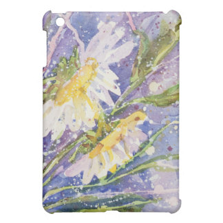 Daisy watercolor iPad case