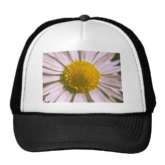 Daisy Watercolour Painting Mesh Hat