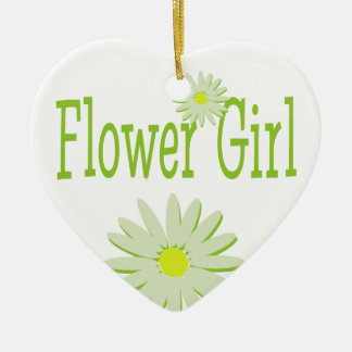 Daisy Wedding/ Flower Girl Christmas Ornament