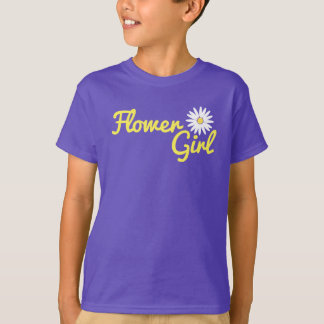 Daisy Wedding Flower Girl T-Shirt