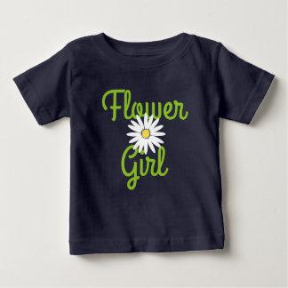 Daisy Wedding Flower Girl T Shirt