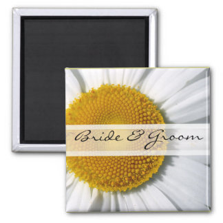 Daisy Wedding Magnets or Customize for Any Event-