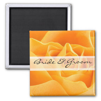 Daisy Wedding Stickers or Customize for Any Event- Square Magnet