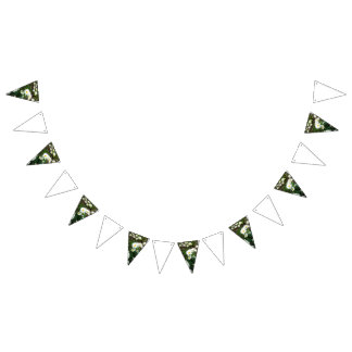 Daisy wedding theme bunting bunting