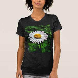 Daisy White Flower Tees
