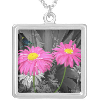 Daisys and Dragonfly Necklaces