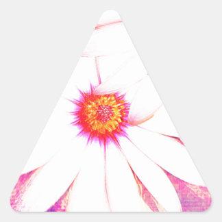 daized triangle sticker