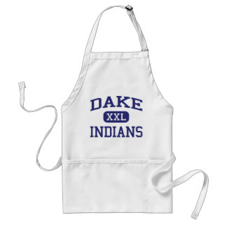 Dake - Indians - Junior - Rochester New York Adult Apron