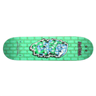 Dakota 02 ~ Custom Graffiti Art Pro Skateboard