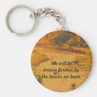 Dakota Indian Tribe message Basic Round Button Key Ring