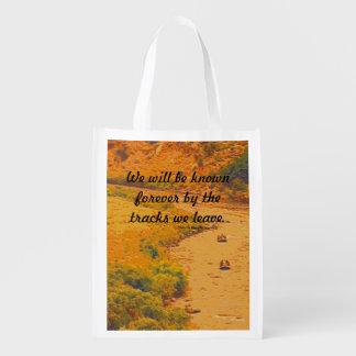 Dakota Indian Tribe message Reusable Grocery Bag