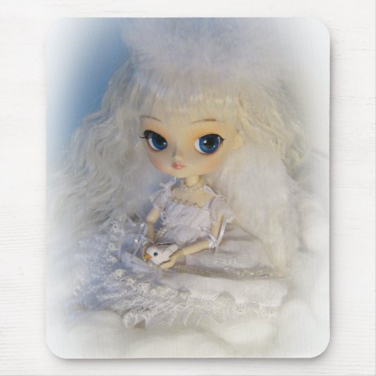 Dal Milch Guardian Angel Doll Mousepad