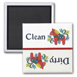 Dala Horse Dishwasher Helper Magnet