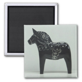 DALA HORSE magnet (black)