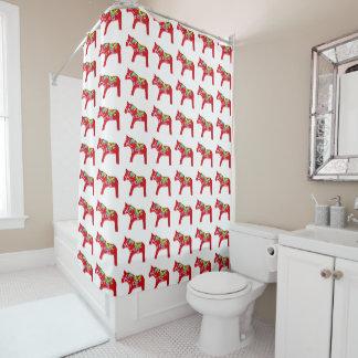 Dala Horse Shower Curtain