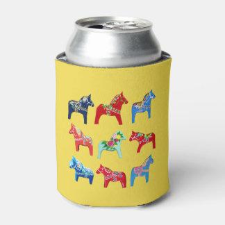 Dala Horses Can Cooler