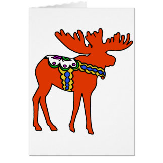 Dala Moose Card