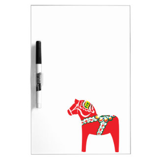 Dalahäst   Dala horse Dry Erase Board