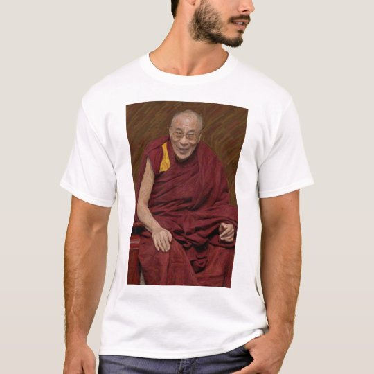Dalai Lama Buddha Buddhist Buddhism Meditation Yog T-Shirt