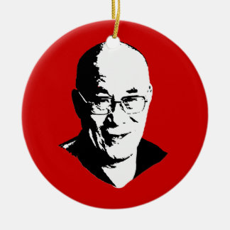 Dalai Lama Christmas Ornament