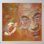 Dalai Lama - Hope Poster