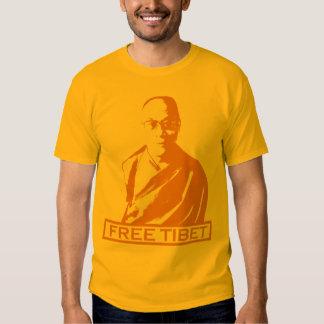 dalai lama orange tee shirt